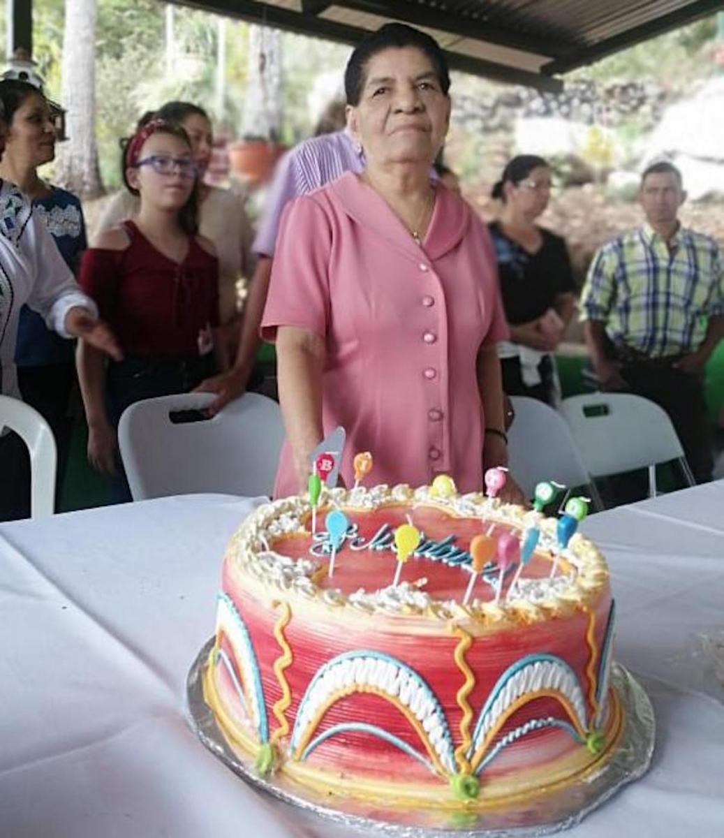 Doña Aida Cora Ramírez Benavides