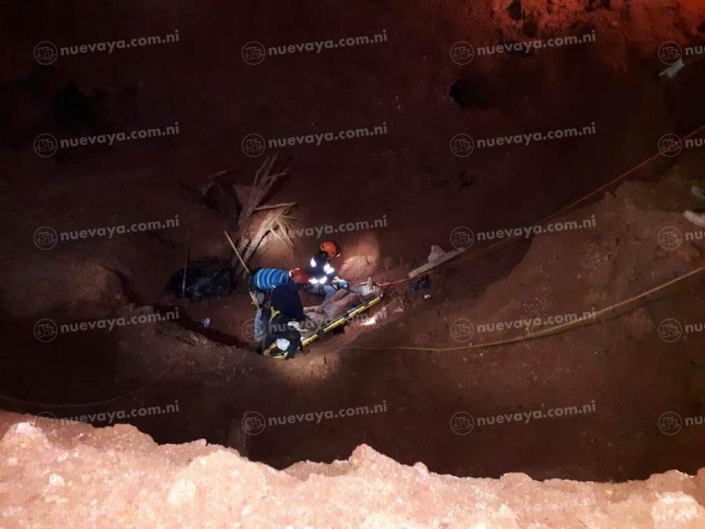 Enrique Said Castillo Estrada falleció soterrado en una mina artesanal de Bonanza, Nicaragua