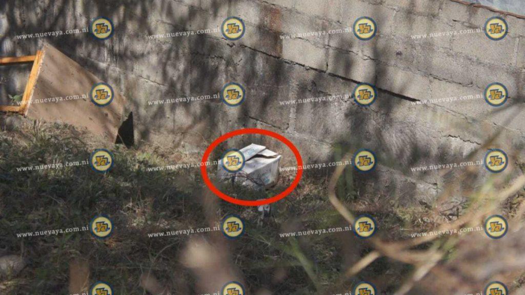 Una bebé fue encontrada enterrada en el patio de una casa en la ciudad de Estelí