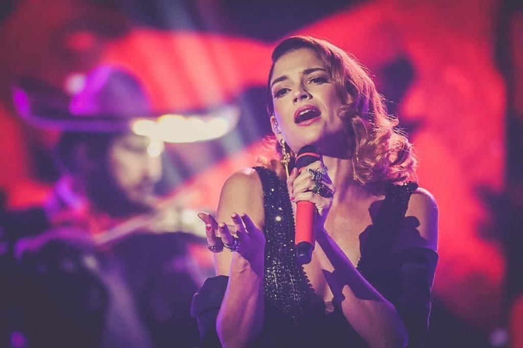 La cantante Natalia Jiménez. Foto tomada de Instagram