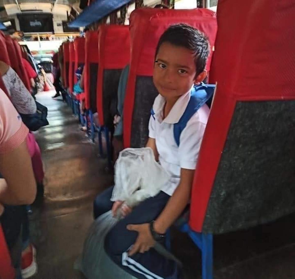 Dierick Castillo tiene 6 años de edad