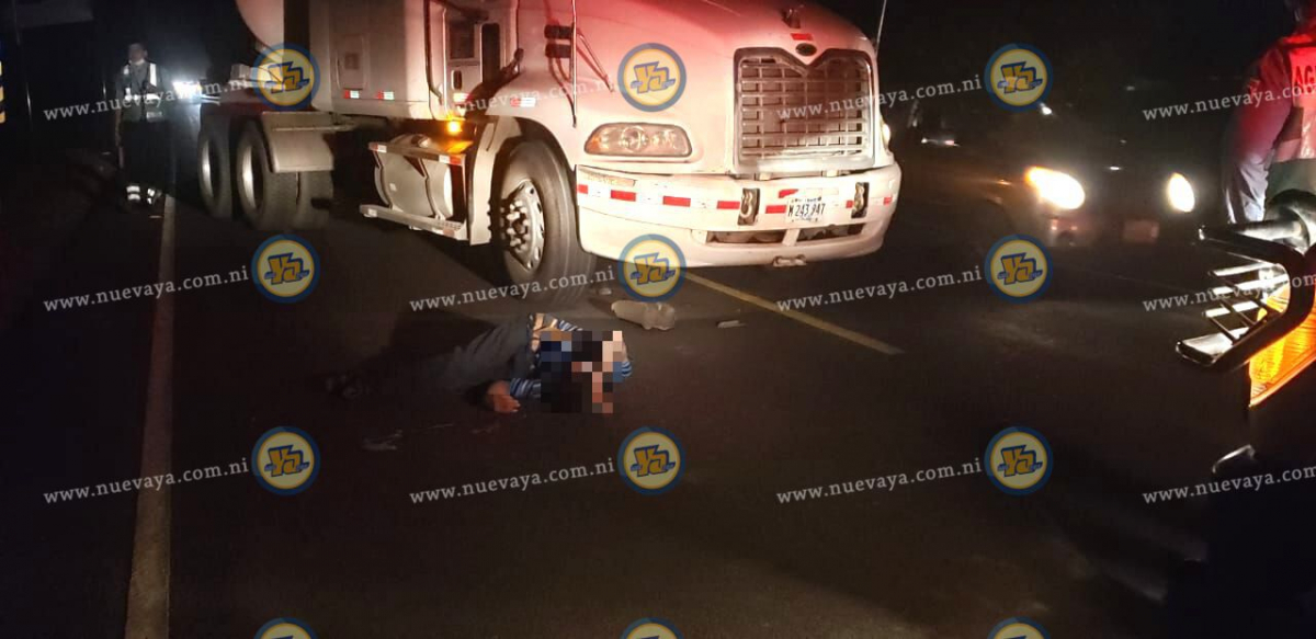 El accidente ocurrió en el kilómetro 136 de la carretera a Corinto