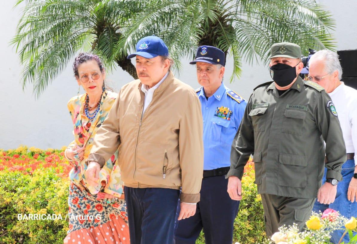 El Gobierno de Nicaragua conmemoró el 87 aniversario del tránsito a la inmortalidad de Sandino