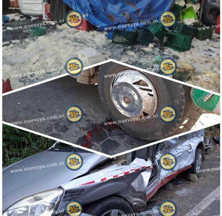 Accidentes de tránsito causaron la muerte de once personas en Nicaragua, en últimos 7 días