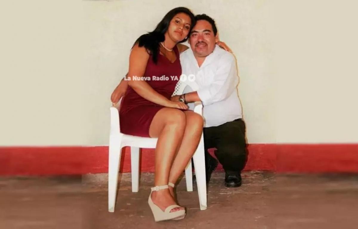 El nicaragüense René Siles y su ex esposa