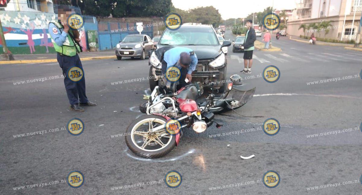 Un vigilante murio tras ser atropellado por un automovilista en Managua