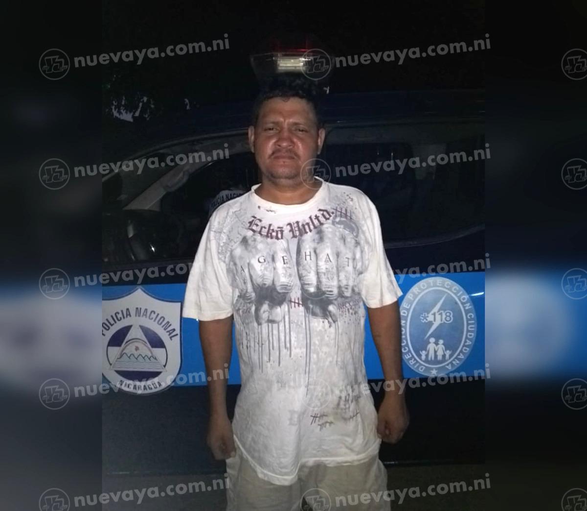 Deyton Ariel Batres Gutiérrez fue arrestado por la Policía Nacional
