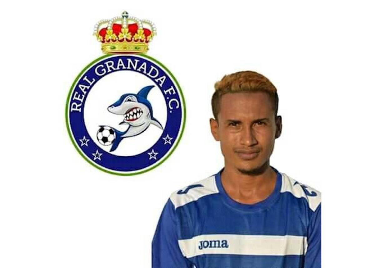 El futbolista granadino José Obando, de 27 años