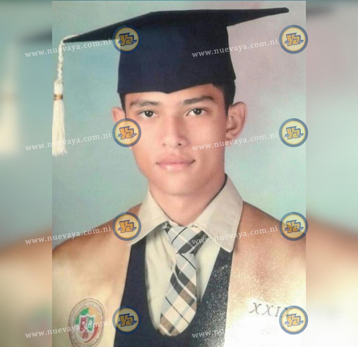 Marvin Rocha Arauz tenía 21 años
