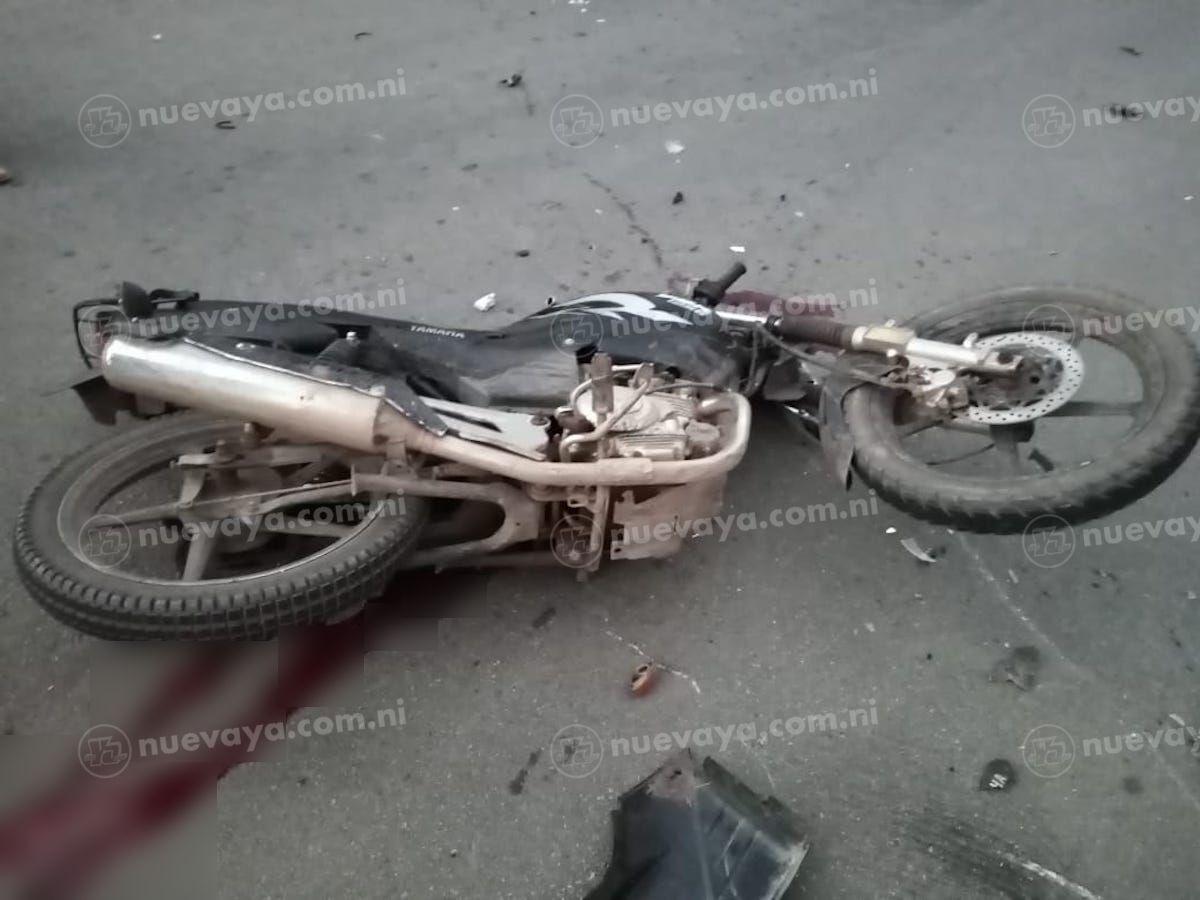 Un niño de 11 años murió tras prestar una motocicleta a su abuelo en Jinotega