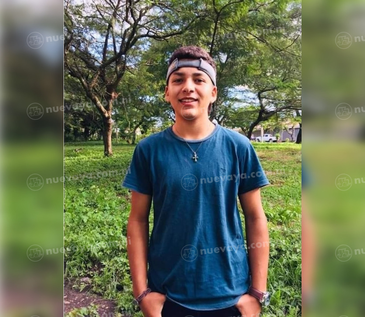 Ariosto Enrique Ruiz Chavarría tenía 16 años de edad