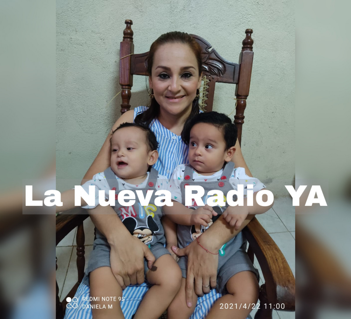 Daniela Jiménez madre panza 2020
