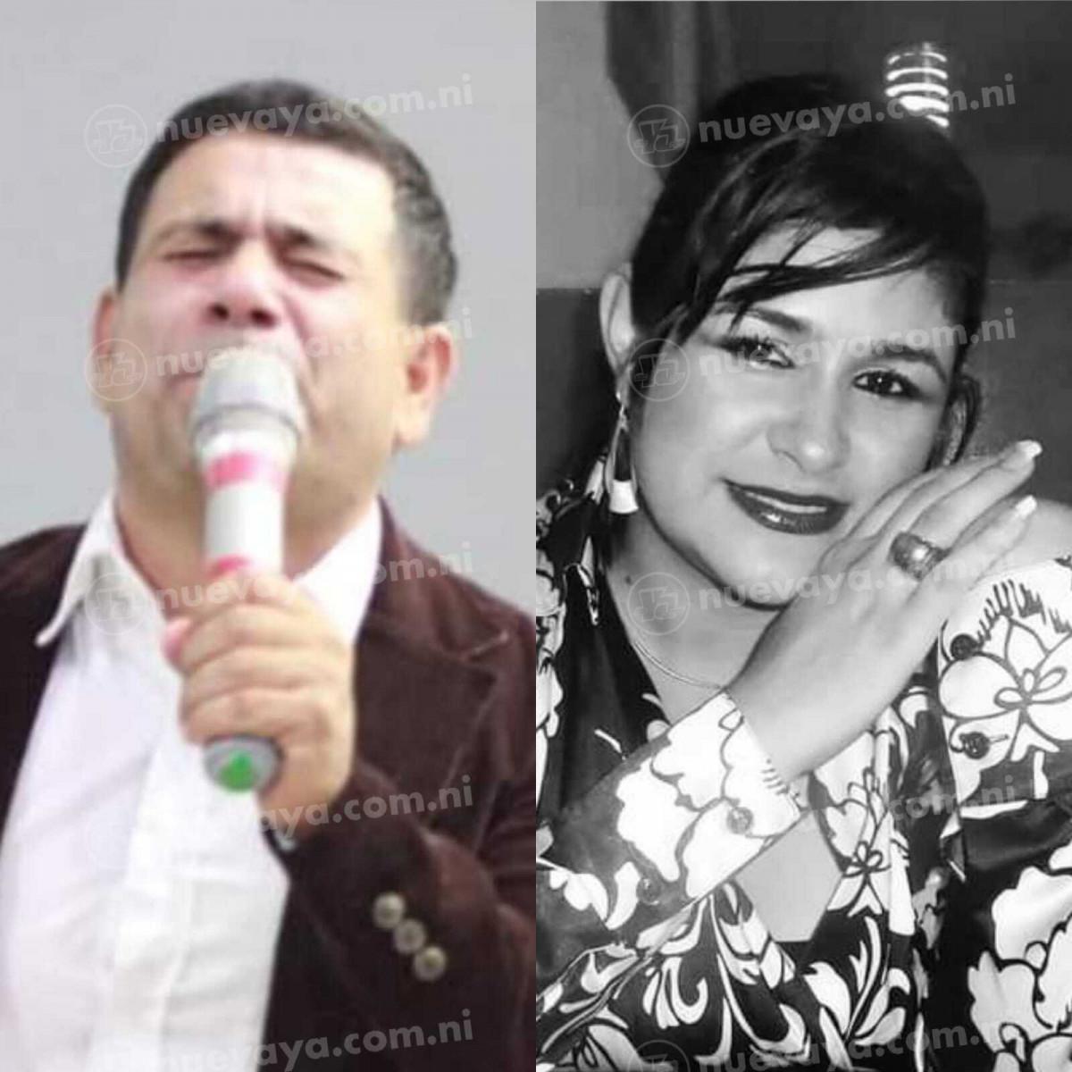 El pastor evangélico Otoniel Pineda y su esposa