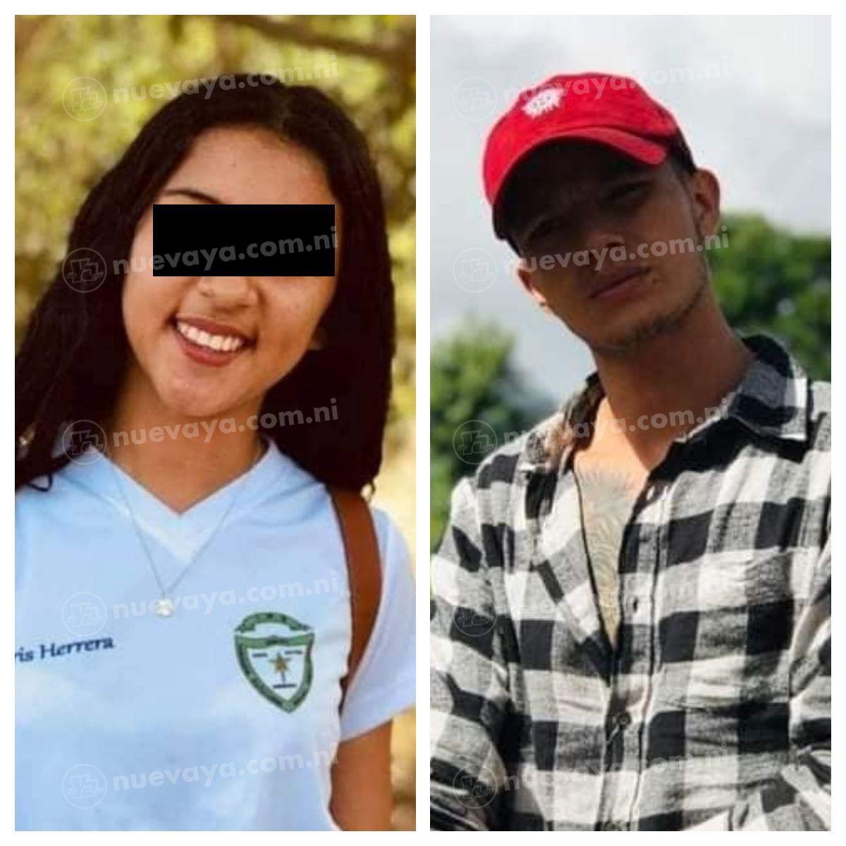 Iris Jael Herrera (15) fue asesinada por su novio Oscar Octavio Cornejo Blandón (25) en Nicaragua.