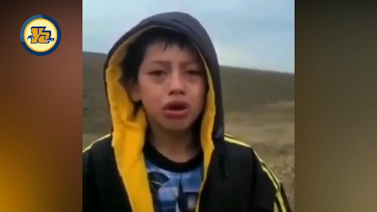 Un niño nicaragüense fue rescatado el pasado primero de abril en un desierto de Estados Unidos