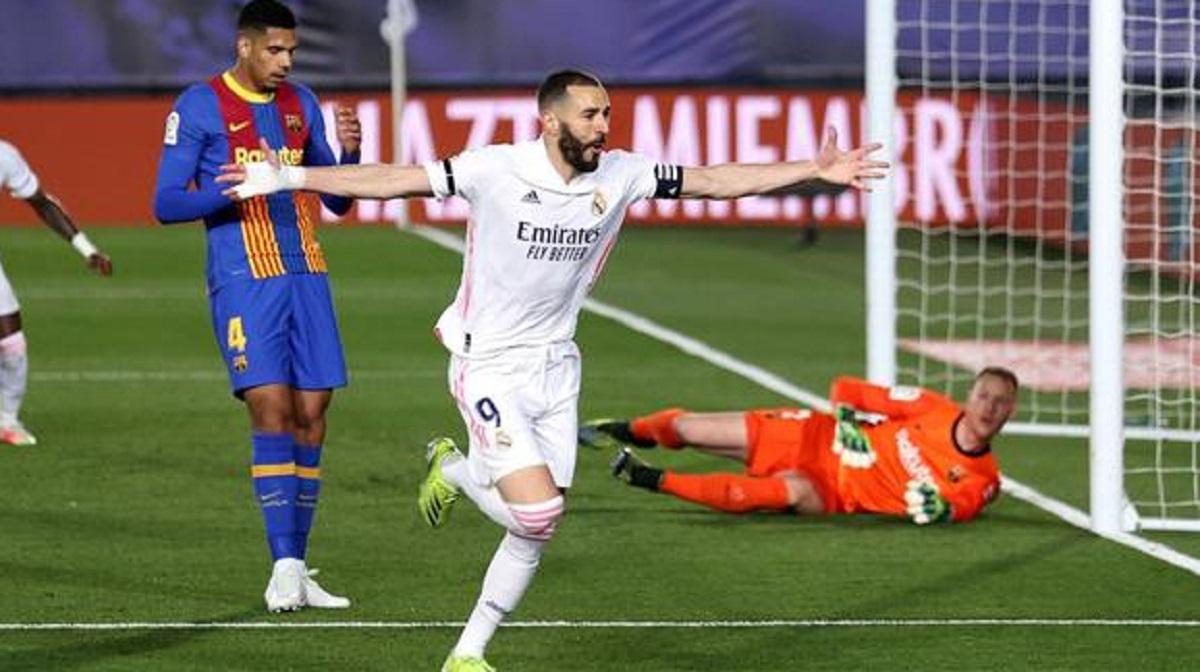 Real Madrid gana el clásico tras vencer 2-1 al F.C. Barcelona