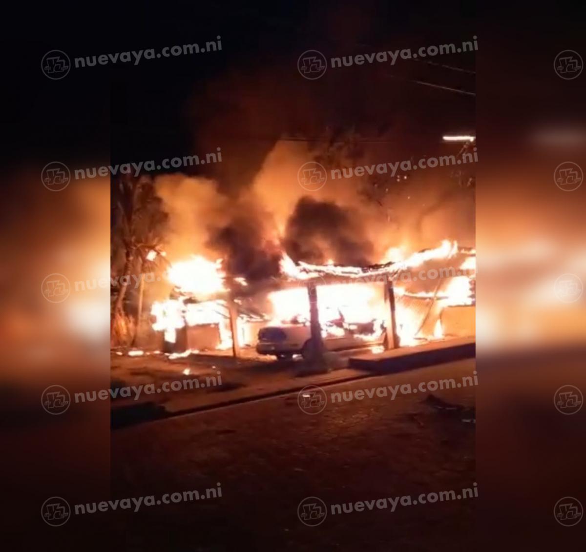Dos viviendas se quemaron esta madrugada en Bilwi
