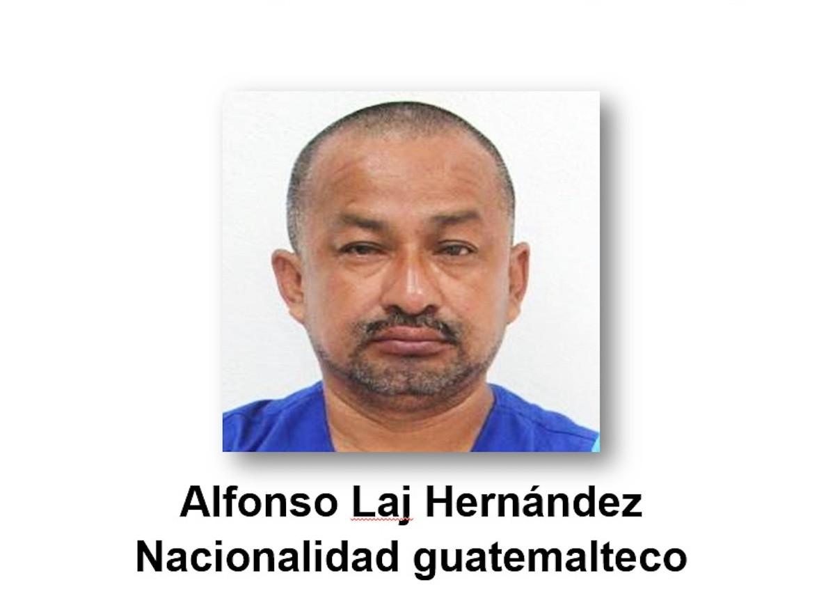 El guatemalteco Alfonso Laj Hernández