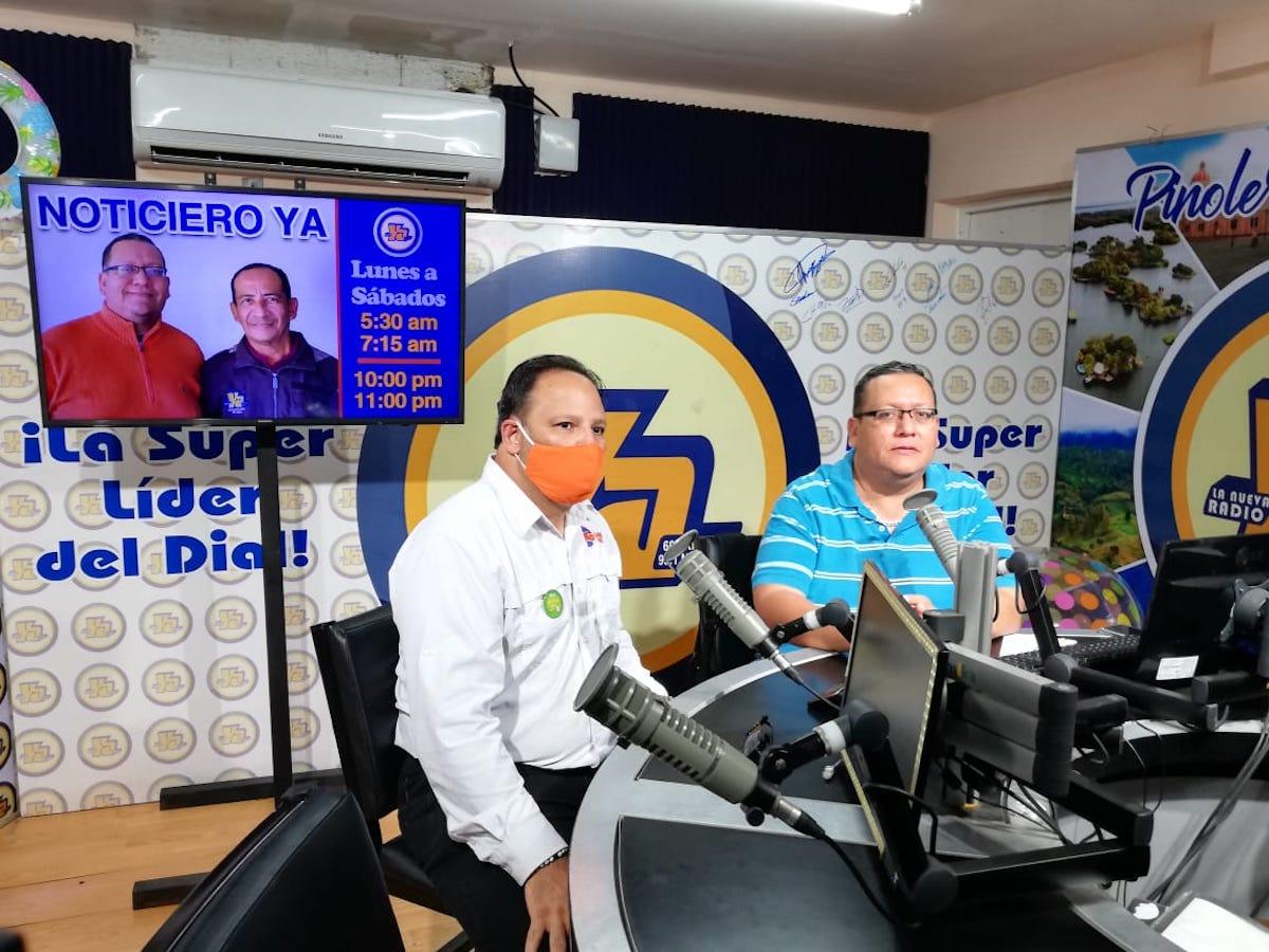 Licenciado Oliver Duarte, Gerente de Mercadeo de Loto