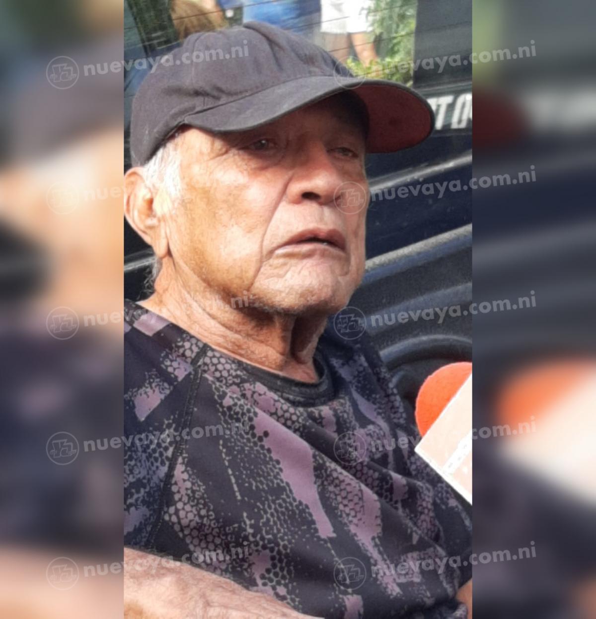 El principal sospechoso Mario José Padilla, de 64 años