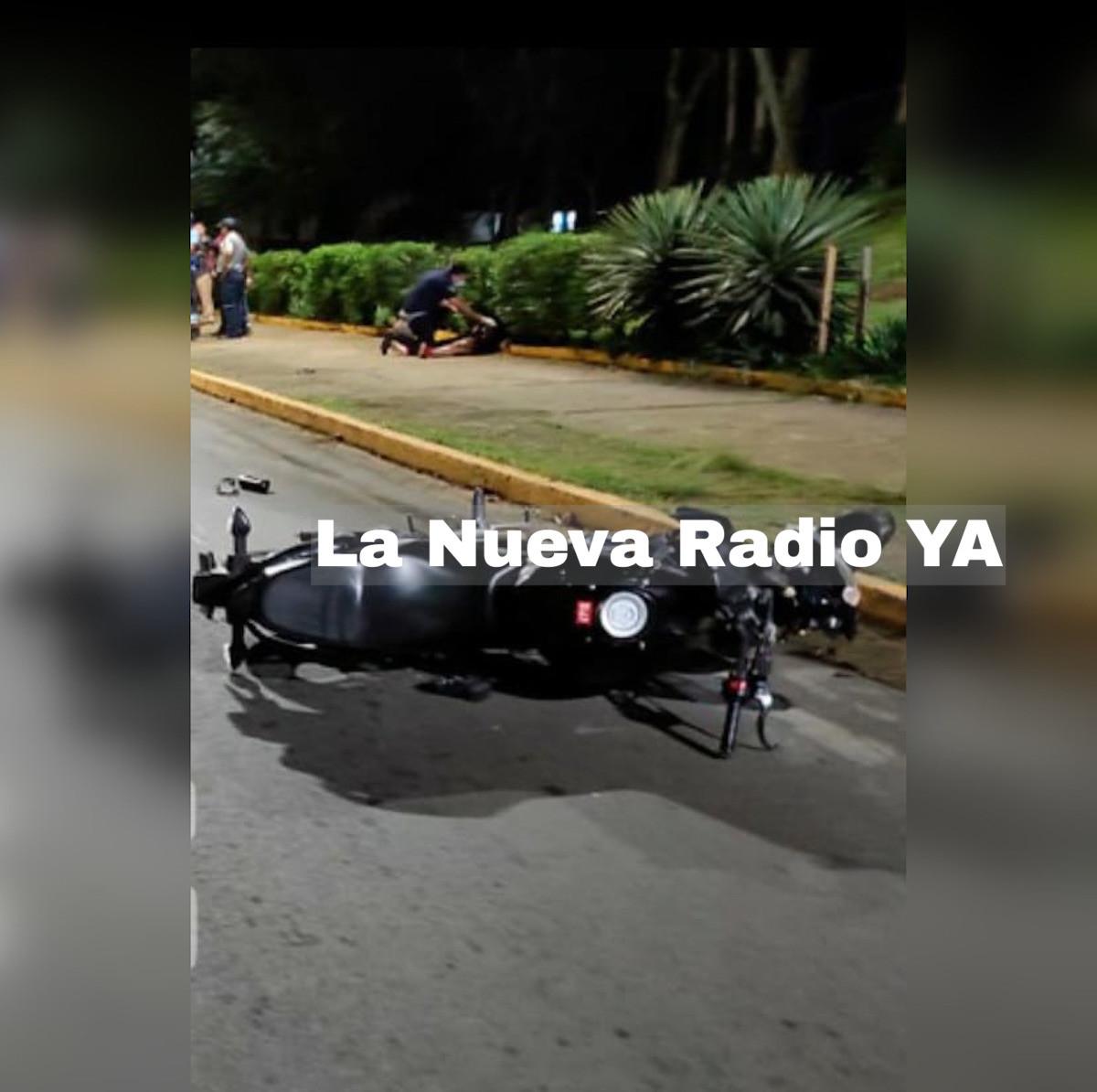 El accidente ocurrió de los semáforos del Ministerio de Gobernación 50 metros al sur