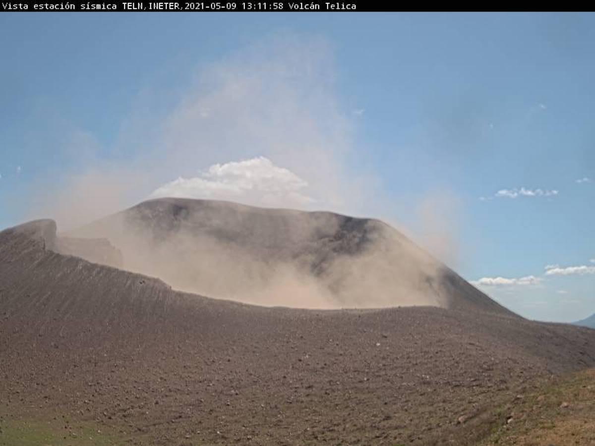 Volcan Telica, de Nicaragua