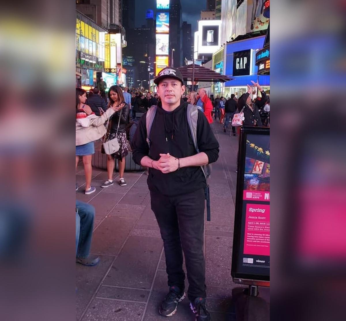 Luis Edelberto Mondragón fallecio hace un mes en Nueva York