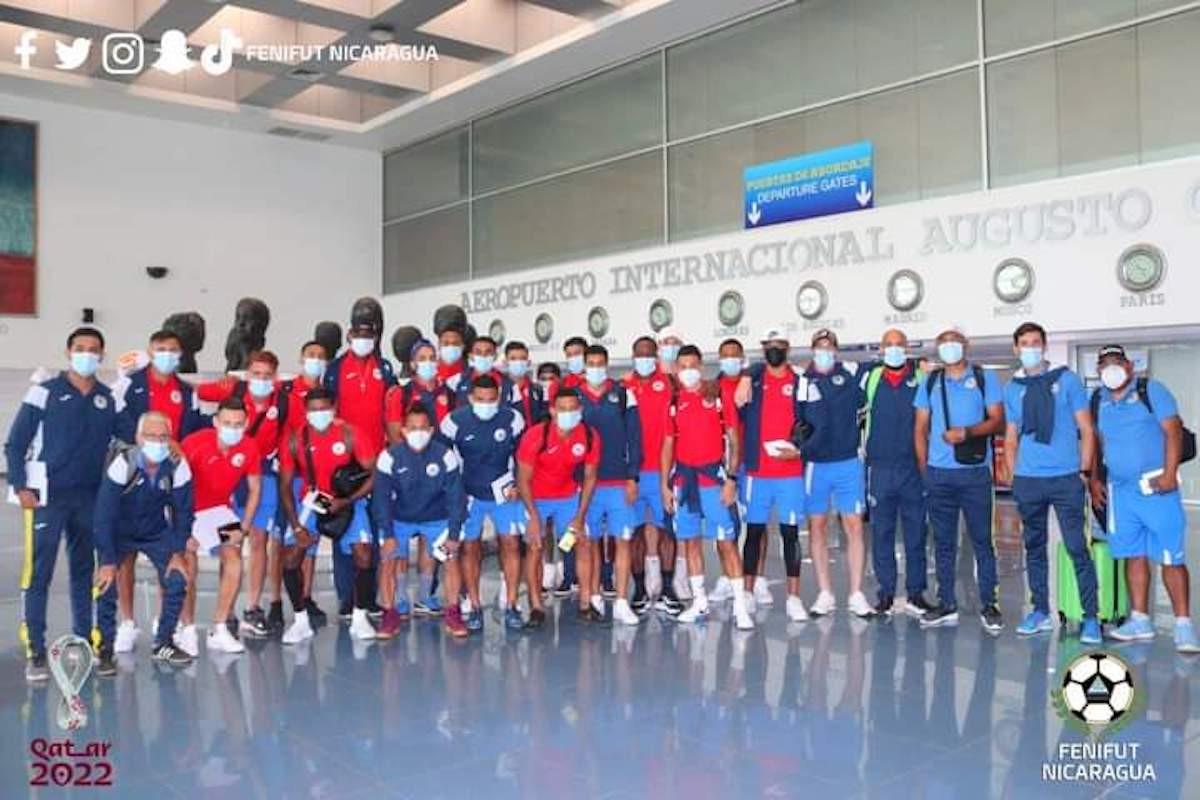Selección nicaragüense de fútbol. Foto cortesía FENIFUT