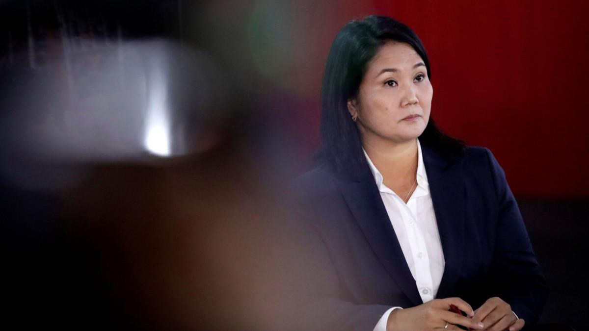 La fiscalía peruana pidió la prisión preventiva para la candidata presidencial Keiko Fujimori