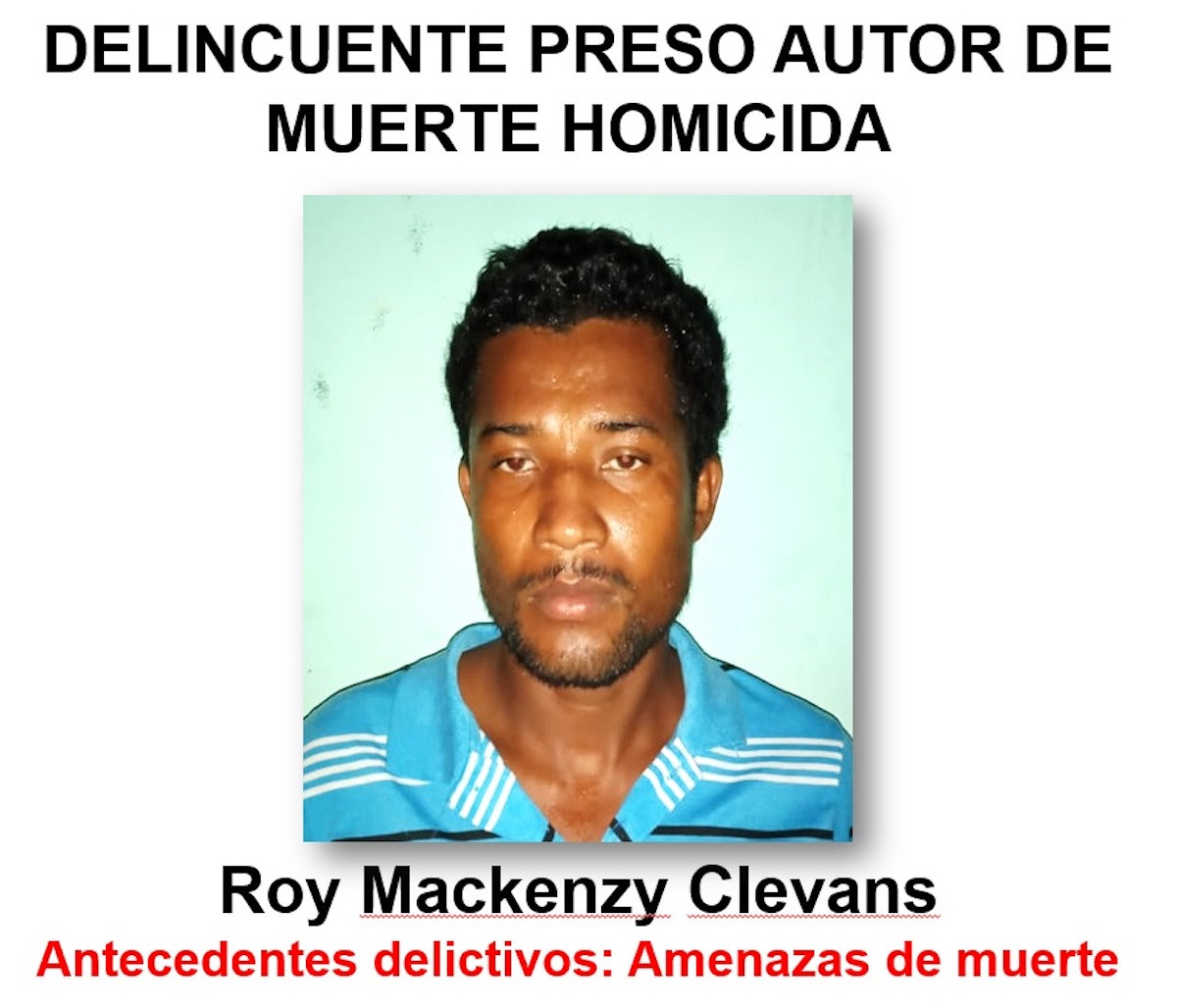 Roy Mackenzy Clevans
