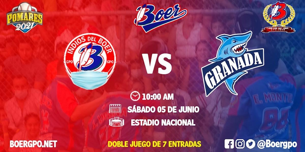 Bóer vs Granada. Foto cortesía @BoerGpo