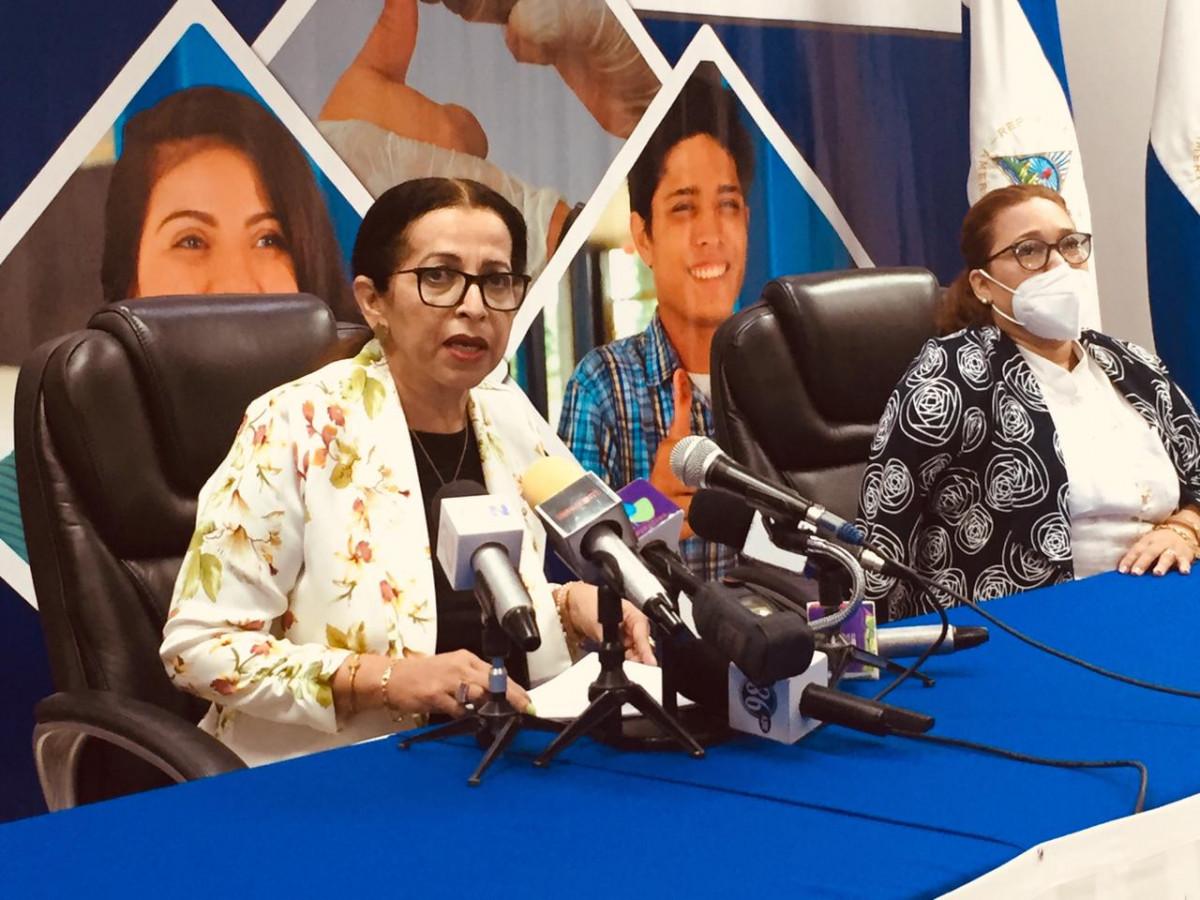 La Magistrada del Poder Electoral Mayra Salinas