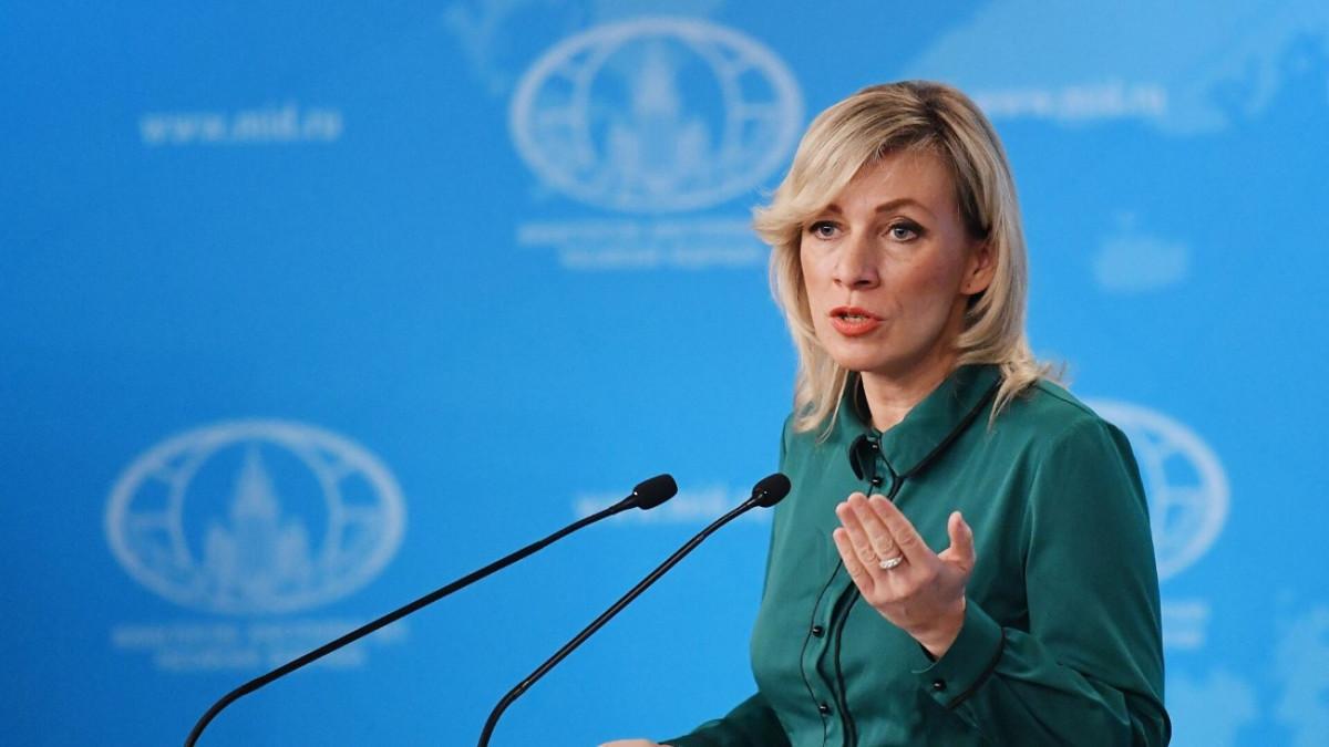 La portavoz de la Cancillería rusa, María Zajárova