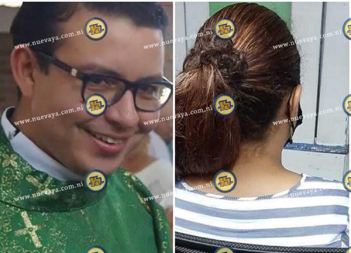 Sacerdote Erick Granera tuvo relaciones con mujer ajena y ahora amenaza con publicar video XXX