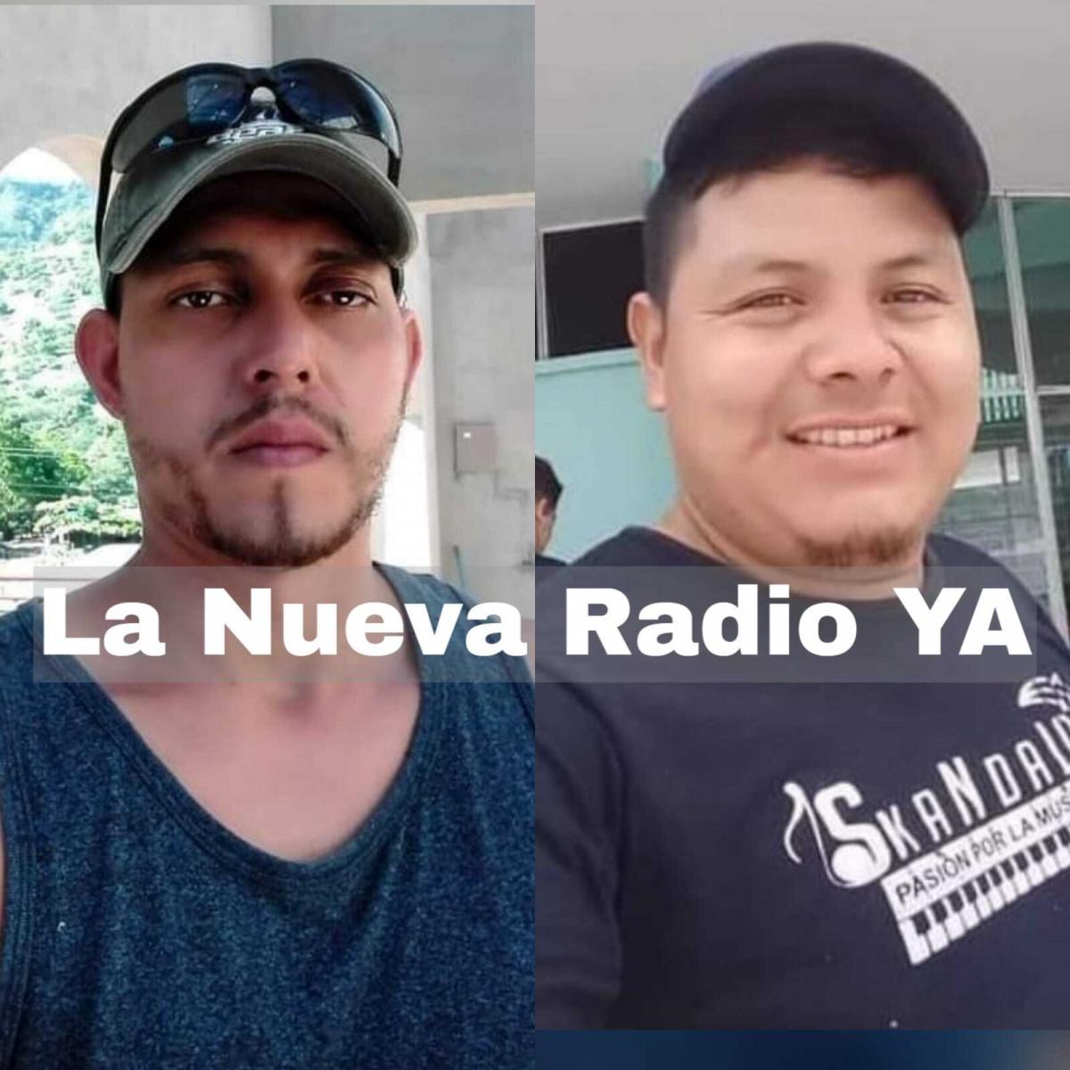 Oscar Fuentes (Fallecido) y Melvin Axel (Herido)