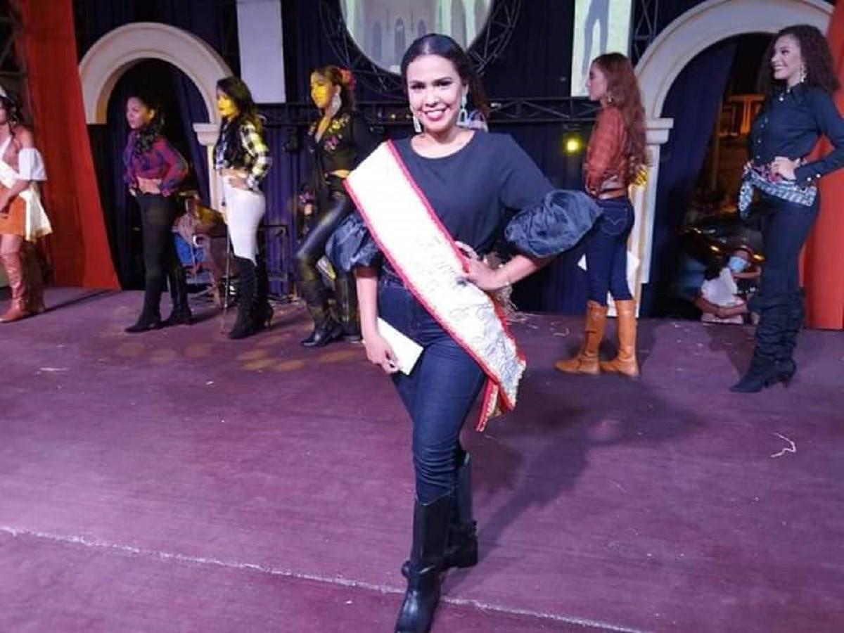 Señorita Diana Gutierrez, Reina del Carnaval 2021
