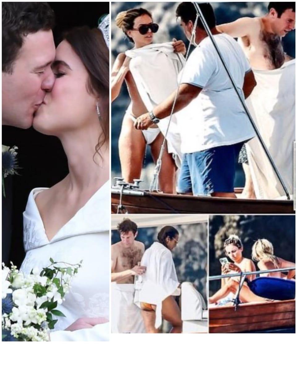 Princesa se comprometió en Nicaragua, el marido la engañó con 3 en un yate y desnudos