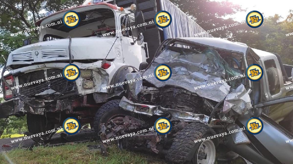 Accidente en Matagalpa