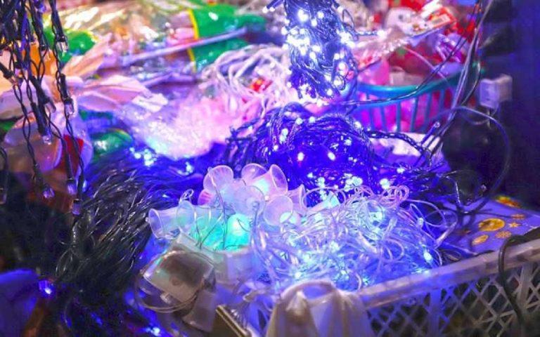 Mercado Roberto Huembes con amplia oferta de productos navideños