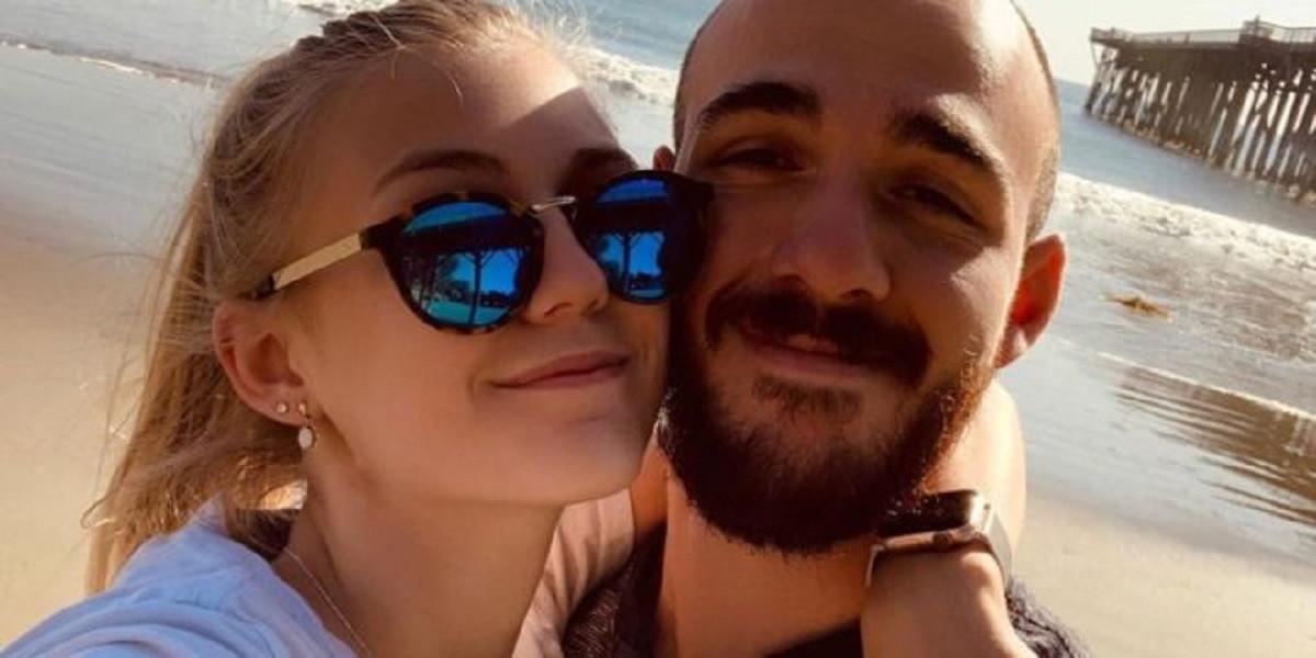 Gaby Petito y su novio Brian Laundrie