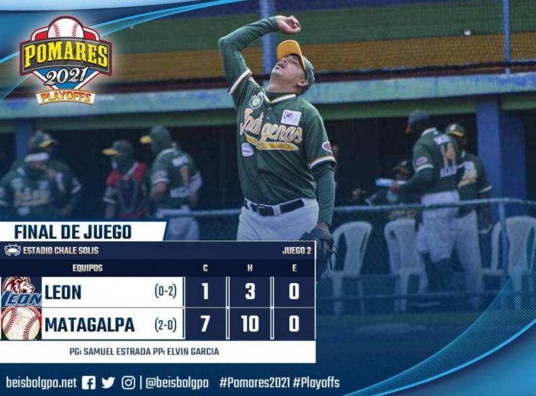 Matagalpa barre a León y está a una victoria de la Gran Final del Pomares