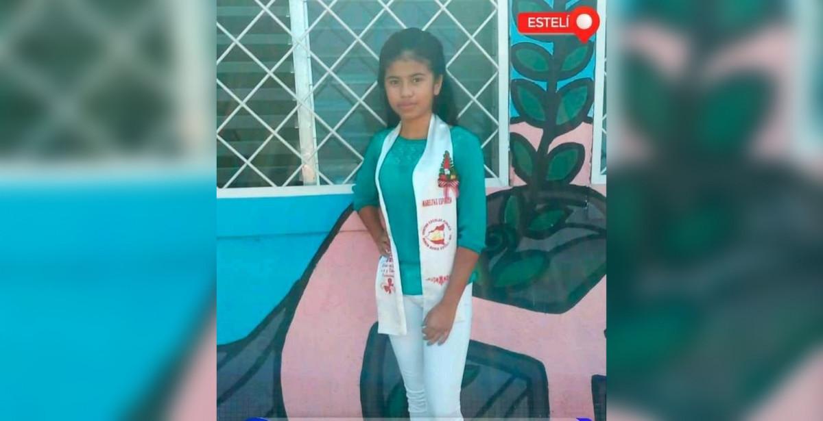 Mareling Espinoza, de 14 años de edad
