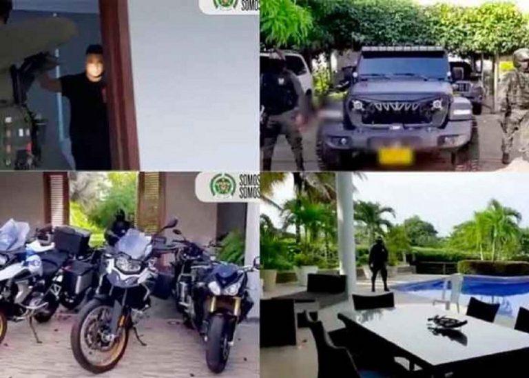 Policía captura a esposas y familiares de narcos del «Clan del Golfo»